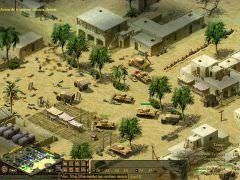 ariver des force de l'axe dans le village