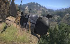 Epave d'hélicoptère