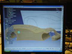 Sur logiciel CAO 3D