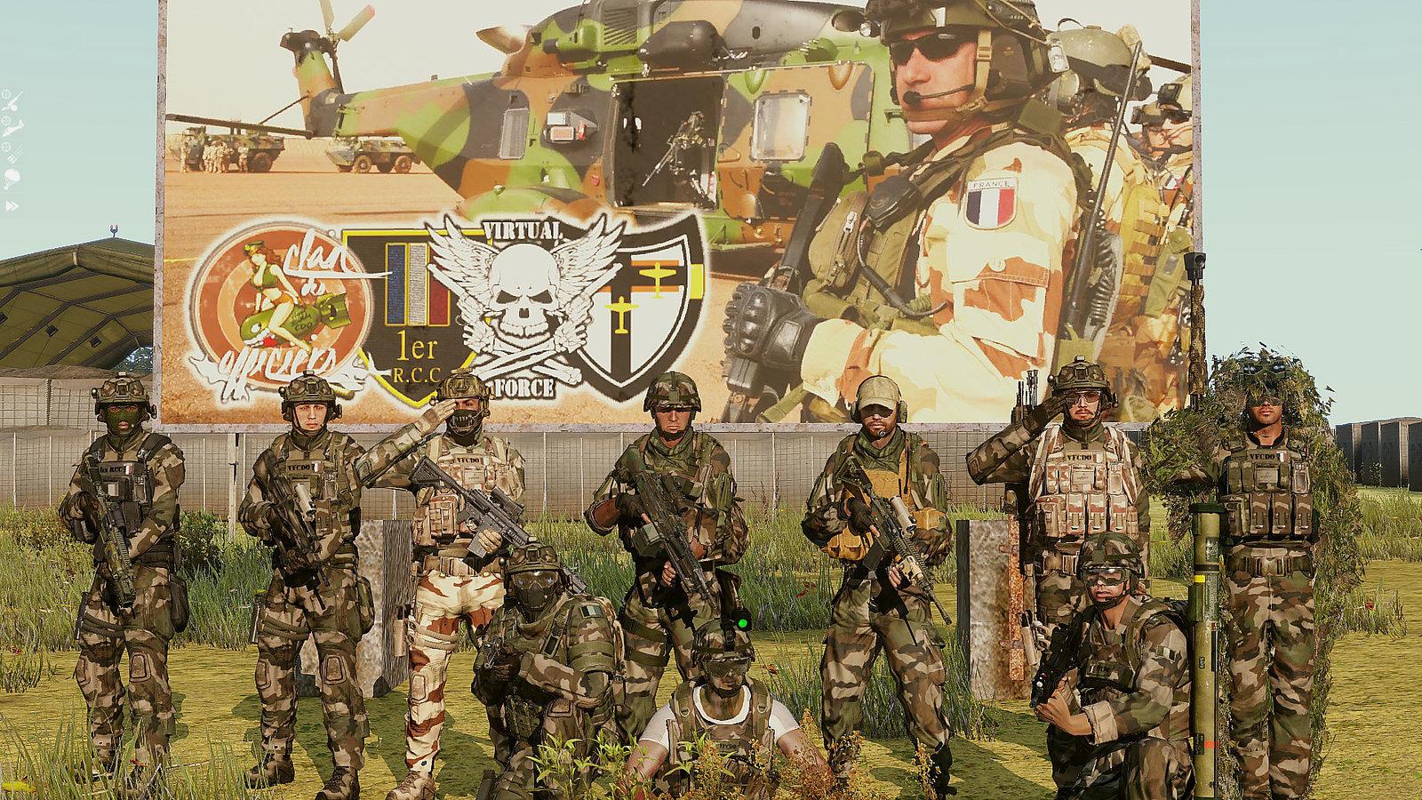 Groupe de combat Arma3 [VF | CDO | JG27 | 1er RCC]