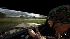 """Post Scriptum - Aux commandes d'un Opel Blitz avec Ray qui s'accroche ! Dois-je comprendre que ma conduite est """"dangereuse"""" ? ;-)"""